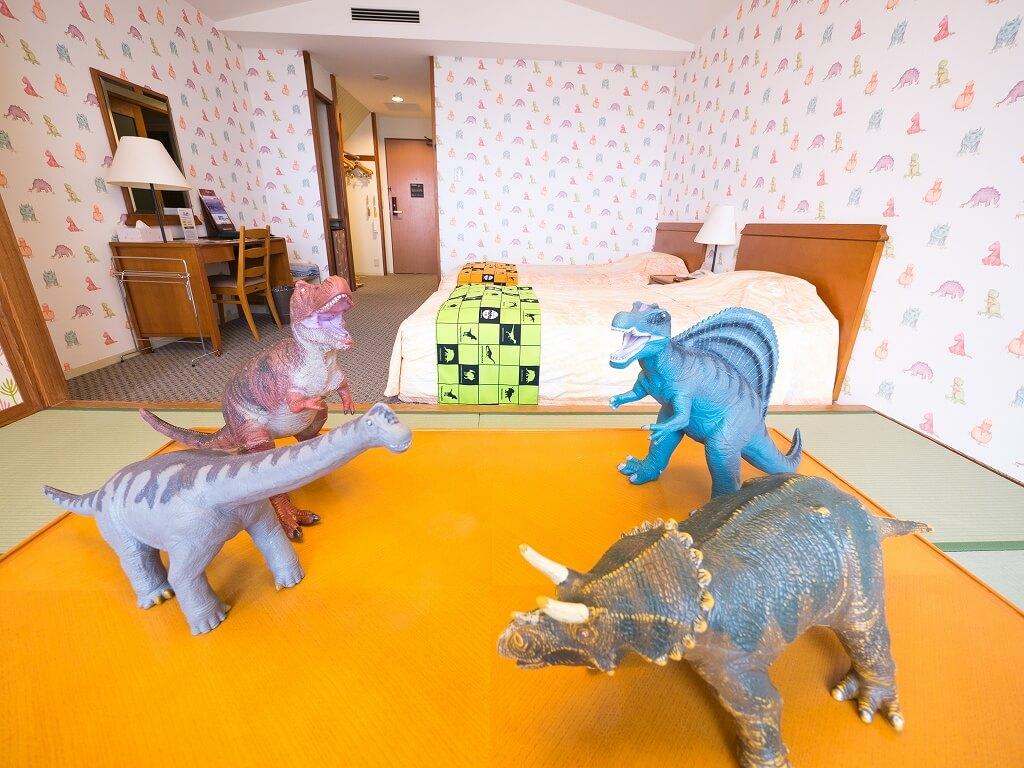 ホテルハーヴェスト 恐竜ルーム