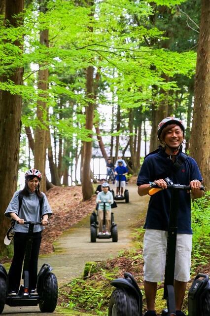 福井県で出来るセグウェイ体験