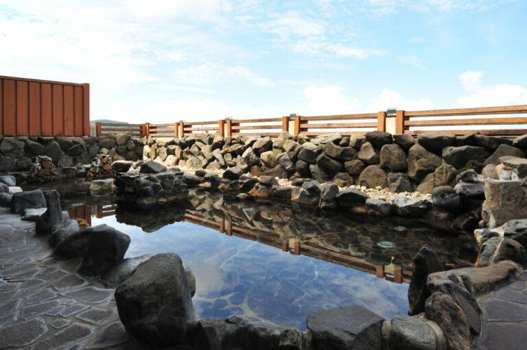 恐竜博物館周辺おすすめ温泉施設 法恩寺温泉ささゆり露天風呂
