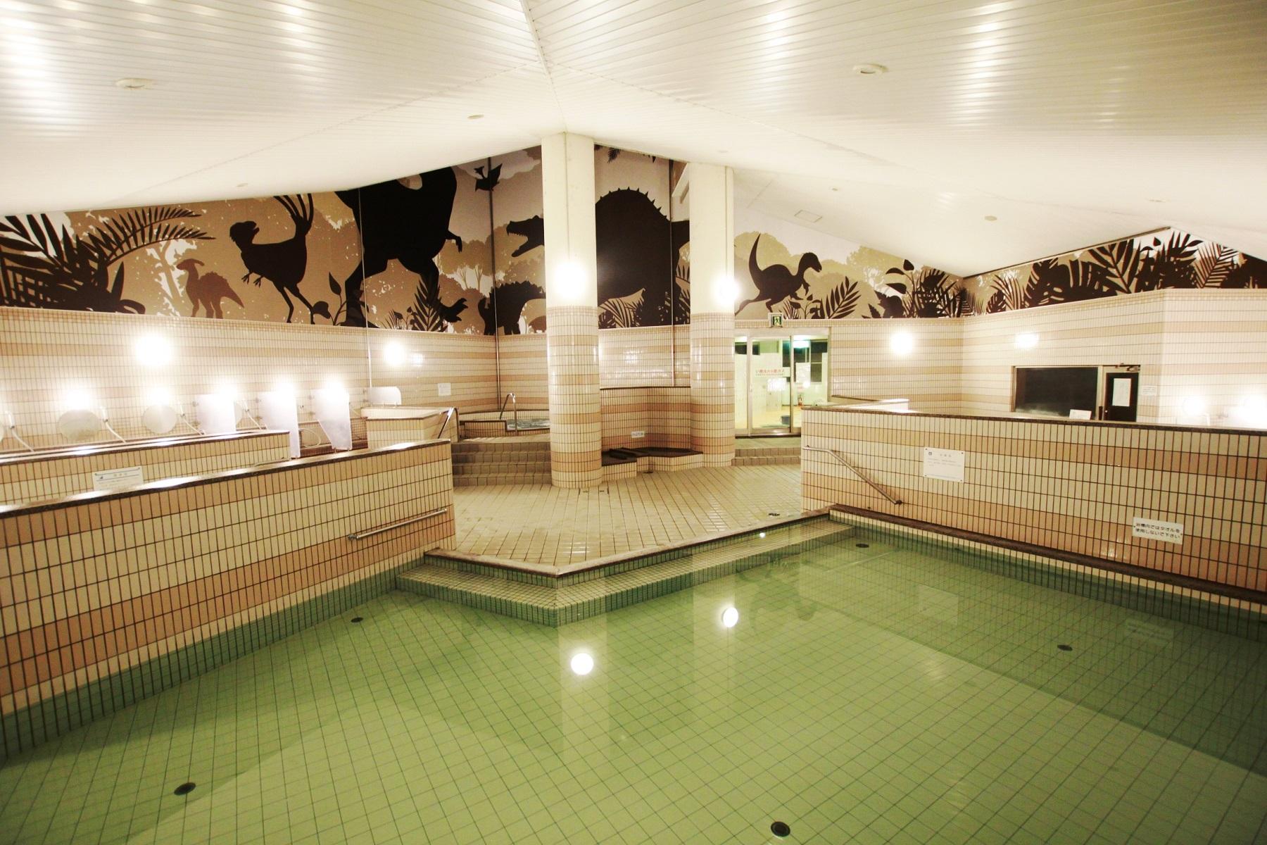 恐竜博物館周辺おすすめ温泉施設 勝山天然温泉水芭蕉