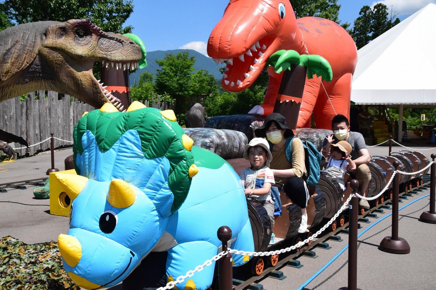 恐竜博物館ディノパークがおがお広場