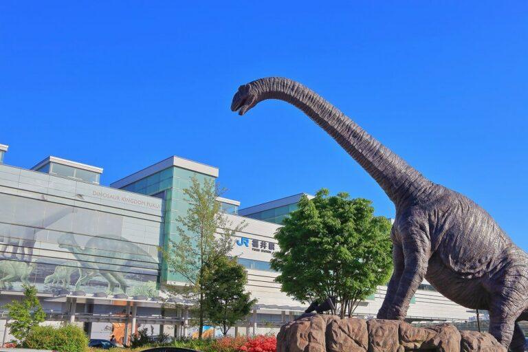 福井駅前観光 恐竜広場