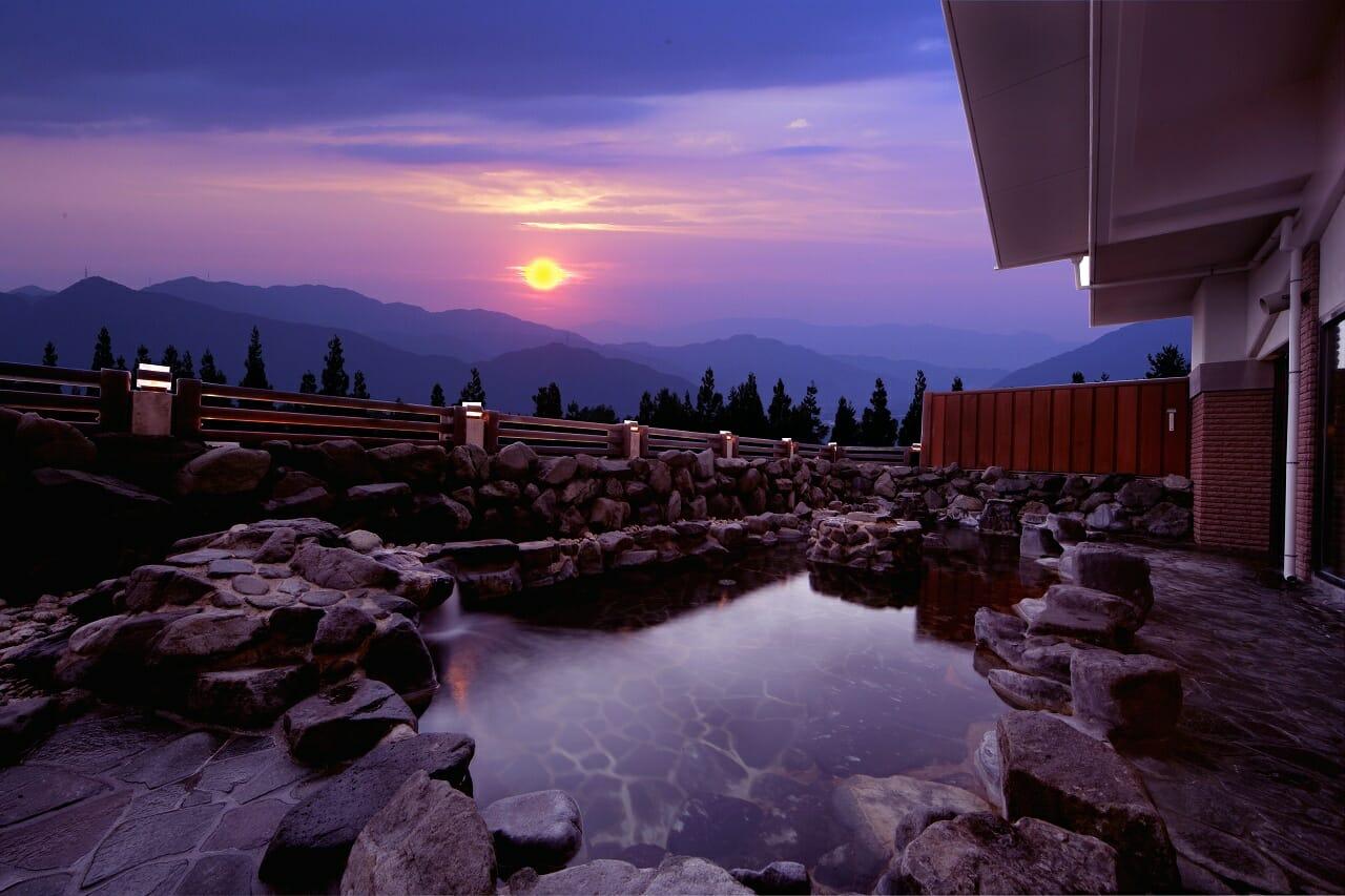 関西おすすめスキー場温泉